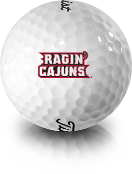 Cajuns Golf Balls